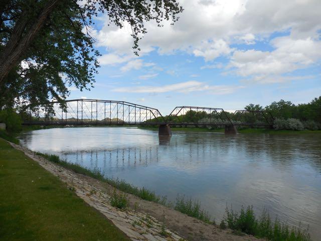 Now a walking bridge.