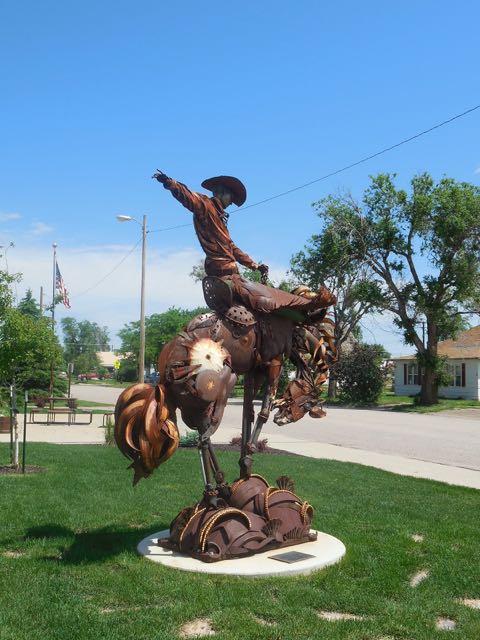 Statue by John Lopez