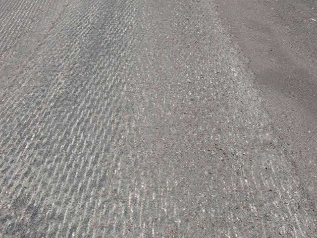 The whole road was a rumble strip